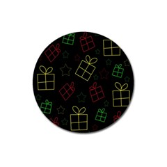 Xmas gifts Magnet 3  (Round)