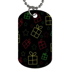 Xmas gifts Dog Tag (One Side)
