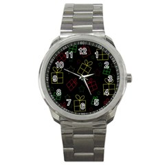 Xmas gifts Sport Metal Watch