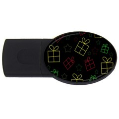 Xmas gifts USB Flash Drive Oval (4 GB)