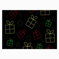 Xmas gifts Large Glasses Cloth (2-Side)