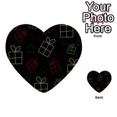 Xmas gifts Multi-purpose Cards (Heart)