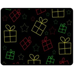 Xmas gifts Fleece Blanket (Medium)
