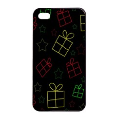 Xmas gifts Apple iPhone 4/4s Seamless Case (Black)