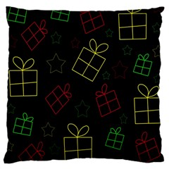 Xmas gifts Large Cushion Case (Two Sides)