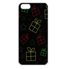 Xmas gifts Apple iPhone 5 Seamless Case (White)