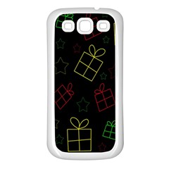 Xmas gifts Samsung Galaxy S3 Back Case (White)