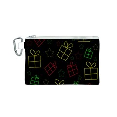 Xmas gifts Canvas Cosmetic Bag (S)