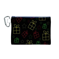 Xmas gifts Canvas Cosmetic Bag (M)