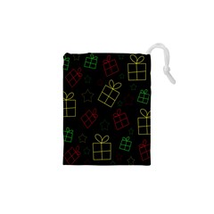 Xmas gifts Drawstring Pouches (XS)
