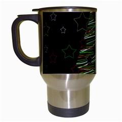 Xmas tree 2 Travel Mugs (White)