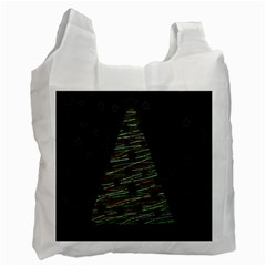 Xmas tree 2 Recycle Bag (Two Side)