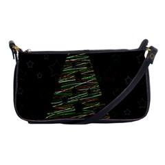 Xmas tree 2 Shoulder Clutch Bags