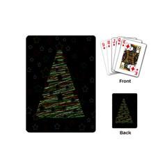 Xmas tree 2 Playing Cards (Mini)