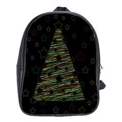 Xmas tree 2 School Bags (XL)