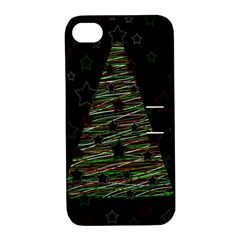 Xmas tree 2 Apple iPhone 4/4S Hardshell Case with Stand