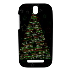 Xmas tree 2 HTC One SV Hardshell Case