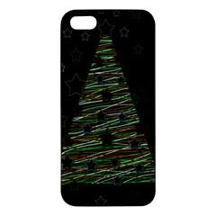 Xmas tree 2 iPhone 5S/ SE Premium Hardshell Case