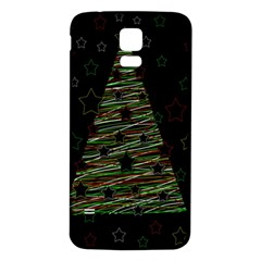 Xmas tree 2 Samsung Galaxy S5 Back Case (White)