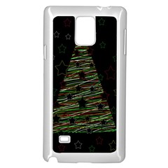 Xmas tree 2 Samsung Galaxy Note 4 Case (White)