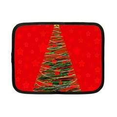 Xmas tree 3 Netbook Case (Small)