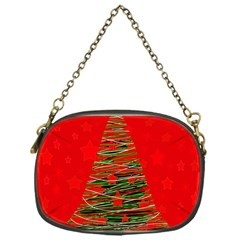 Xmas tree 3 Chain Purses (One Side)