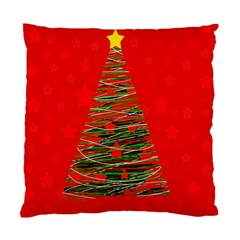 Xmas tree 3 Standard Cushion Case (Two Sides)