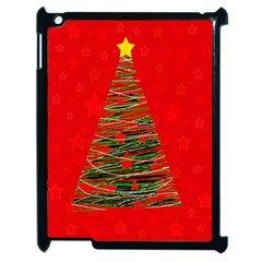Xmas tree 3 Apple iPad 2 Case (Black)