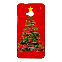 Xmas tree 3 HTC One M7 Hardshell Case