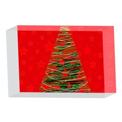 Xmas tree 3 4 x 6  Acrylic Photo Blocks