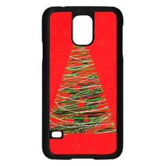 Xmas tree 3 Samsung Galaxy S5 Case (Black)