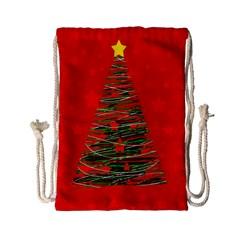 Xmas tree 3 Drawstring Bag (Small)