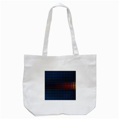 Signal Background Pattern Light Tote Bag (White)