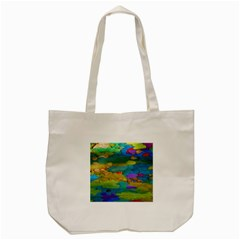 Space Bark Color Background Tote Bag (Cream)