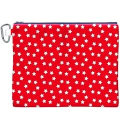 Star Christmas Canvas Cosmetic Bag (XXXL)