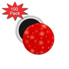 Red Xmas desing 1.75  Magnets (100 pack)