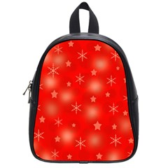 Red Xmas desing School Bags (Small)