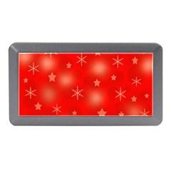 Red Xmas desing Memory Card Reader (Mini)
