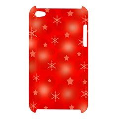 Red Xmas desing Apple iPod Touch 4