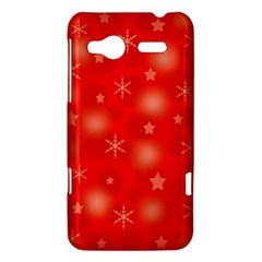 Red Xmas desing HTC Radar Hardshell Case