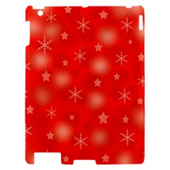 Red Xmas desing Apple iPad 2 Hardshell Case
