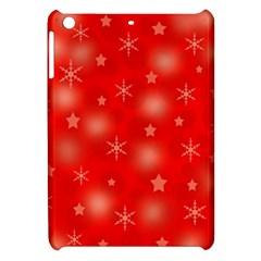 Red Xmas desing Apple iPad Mini Hardshell Case