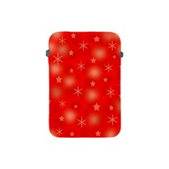 Red Xmas desing Apple iPad Mini Protective Soft Cases