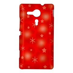 Red Xmas desing Sony Xperia SP