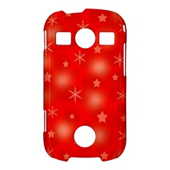 Red Xmas desing Samsung Galaxy S7710 Xcover 2 Hardshell Case