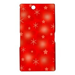 Red Xmas desing Sony Xperia Z Ultra