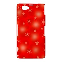 Red Xmas desing Sony Xperia Z1 Compact