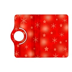Red Xmas desing Kindle Fire HD (2013) Flip 360 Case