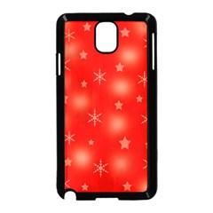 Red Xmas desing Samsung Galaxy Note 3 Neo Hardshell Case (Black)