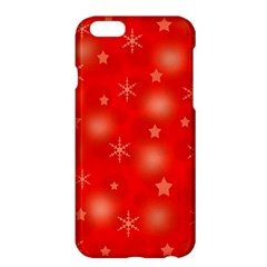 Red Xmas desing Apple iPhone 6 Plus/6S Plus Hardshell Case